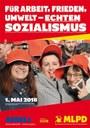 1.Mai 2018 - Für Arbeit, Frieden, Umwelt - echten Sozialismus