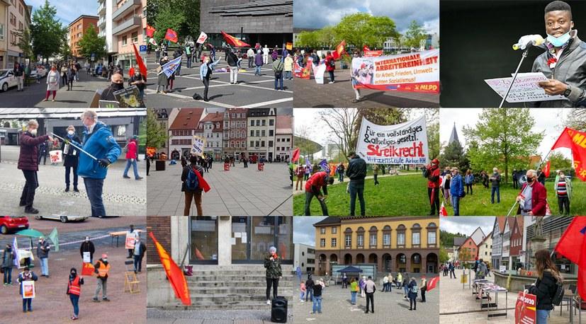 1. Mai 2020:  Für die einen Kampftag, für die anderen Revival der Klassenzusammenarbeitspolitik