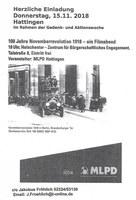 100 Jahre Novemberrevolution 1918 - ein Filmabend der MLPD