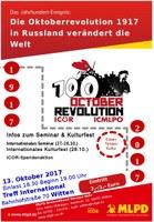 100 Jahre Oktoberrevolution - Veranstaltung der MLPD Ennepe-Ruhr
