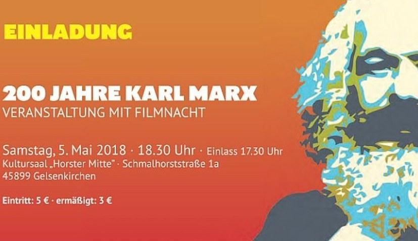 Gedenkveranstaltung und Film-Nacht am 5. Mai in Gelsenkirchen - Horster Mitte
