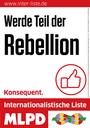 Direktkandidatur der Rebellin Anna Vöhringer für die Internationalistische Liste/MLPD für Ennepe-Ruhr-Kreis II (Witten, Herdecke) bestätigt – einstimmig, keinerlei Beanstandung