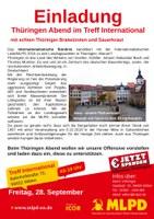 Einladung zum Thüringen-Abend