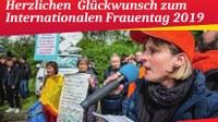 """Frauenverband Courage: """"Am 8. März 2019 raus auf die Straße!"""""""