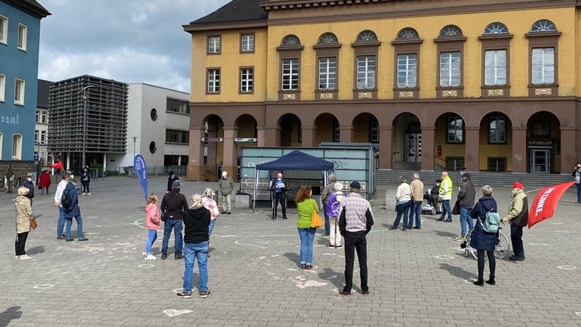 Kämpferische 1. Mai-Kundgebungen in Witten und in Hattingen
