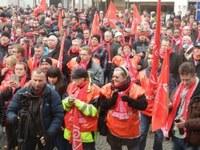 Metall-Tarifrunde  -  Wir sind Streikbereit!