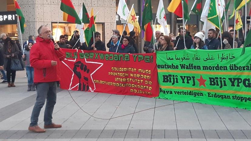 MLPD EN : Hände Weg von Rojava! Kommt zur Protestkundgebung am 10.10., 17.00 Berliner Platz Witten