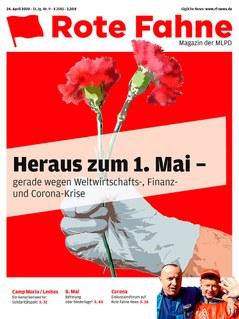 Presseerklärung: Die MLPD beteiligt sich aktiv an 1. Mai Kundgebungen im Kreis Ennepe-Ruhr
