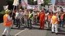 Protestdemonstration der Ruhrkumpels in Bottrop! Das geht uns alle an.....