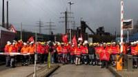 Stahlindustrie: Schließungspläne nicht hinnehmen! – Gemeinsamer Kampf um jeden Arbeits- und Ausbildungsplatz!