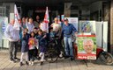Straßenwahlkampf in Witten