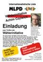 Wählerinitiative Achim Czylwick lädt ein
